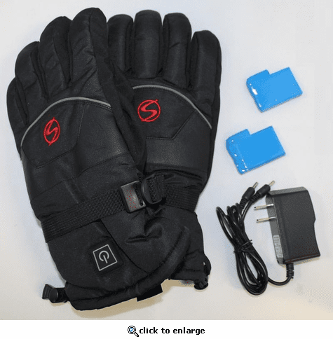 Ski Signature Men's Frontier Heated Gloves