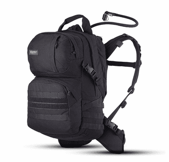 Source Tactical Patrol 35L Tactical Backpack with 3L Hydration Bladder - Black