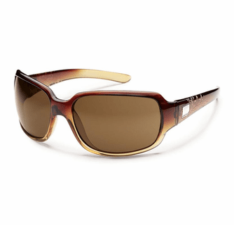 Suncloud Injection Cookie Brown Fade Laser Polarized Brown Sunglasses