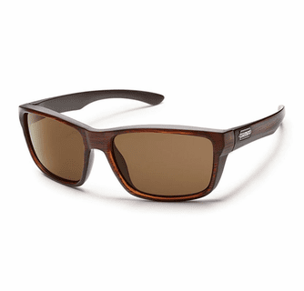 Suncloud Injection Mayor Burnished Brown Polarized Brown Sunglasses
