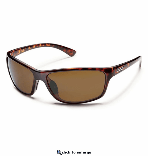 Suncloud Injection Sentry Tortoise Polarized Brown Sunglasses