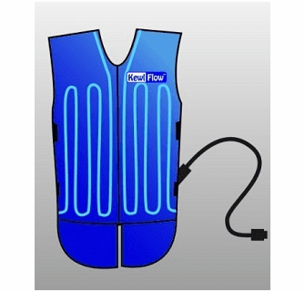 Techniche KewlFlow Circulatory Cooling Vest With Backpack Kit