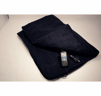 Trillium Car Cozy 2 12-Volt Heated Travel Blanket with Patented Safety Timer