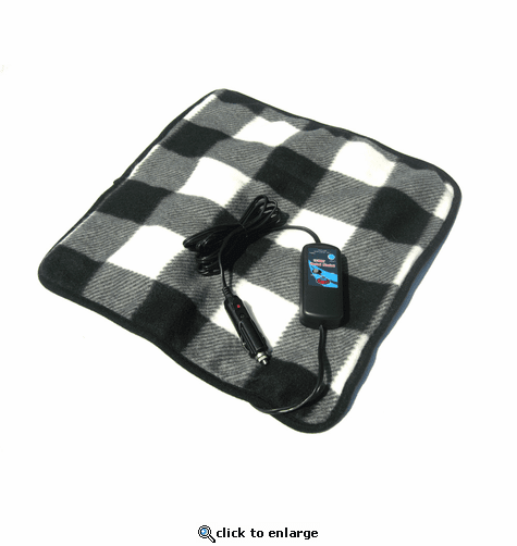Trillium Car Cozy 2 12-Volt Heated Travel Pad with Patented Safety Timer