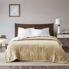 True North by Sleep Philosophy Ultra Soft Plush Reverses to Berber Heated Blanket with Bonus Automatic Timer - Queen