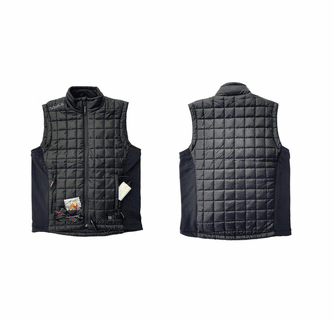 Volt Heat Fusion 12V/7V Dual Source Heated Vest with Bluetooth Therm Controller Switch