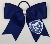 Marietta Blue Devils Hair Bow