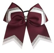 Maroon Glitter Loop and Tail
