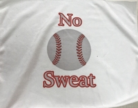 New BaseBall Towel with No Sweat logo