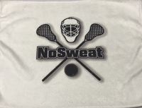 New LaCrosse Sweat Towel with No Sweat Logo