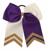 New Medium Purple White and Old Gold