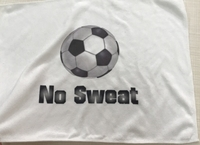 New Soccer Towel with No Sweat Logo