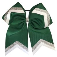 Forest Green Glitter Loop and Tail