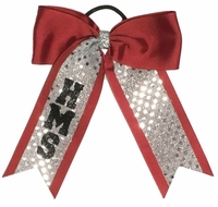 Small High School and Middle School Hair Bows