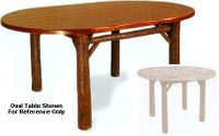 """Old Hickory 42"""" Old Faithful Dining Room Table - Round"""