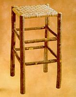 Old Hickory #953 Bar Stool