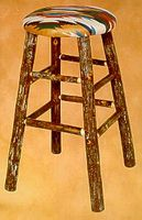 Old Hickory #955 Bar Stool