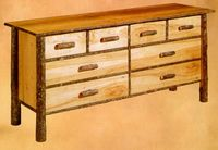 Old Hickory Classic 6-Drawer Double Dresser