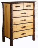 Old Hickory Classic Five Drawer Dresser