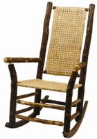 Old Hickory High Back Outdoor Rocker