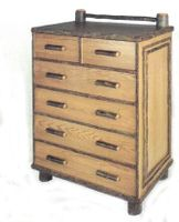 Old Hickory Old Faithful Five Drawer Chest