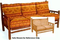 Old Hickory Old Faithful Great Room Love Seat