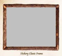 Old Hickory Classic Hickory Frame/Mirror