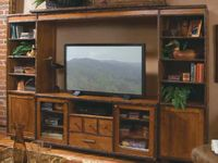 Old Hickory Entertainment Center - Birch Accents