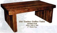 Old Hickory Old Timber Coffee Table