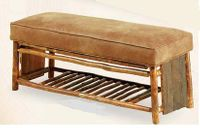 Old Hickory Retreat Bench