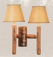 Old Hickory Rocky Mountain Double Sconce