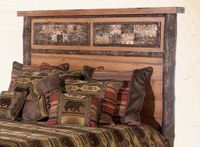 Old Hickory Woodland Bed Headboard