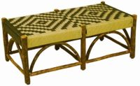 Old Hickory Sun Valley Double Outdoor Bench