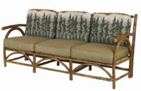 Old Hickory Sun Valley Club Sofa