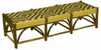 Old Hickory Sun Valley Triple Outdoor Bench