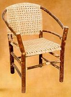 Old Hickory Two Hoop Chair