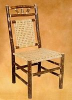 Old Hickory Wagon Wheel Dining Chair