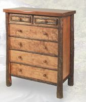 Old Hickory Woodland Five Drawer Chest