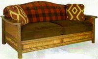 Old Hickory Woodland Sofa