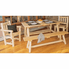 3-Piece Classic Farmer's Table & Bench Set