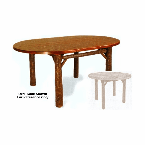 """42"""" Old Faithful Dining Room Table - Round"""