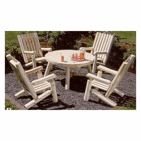 5-Piece High Back Table Group