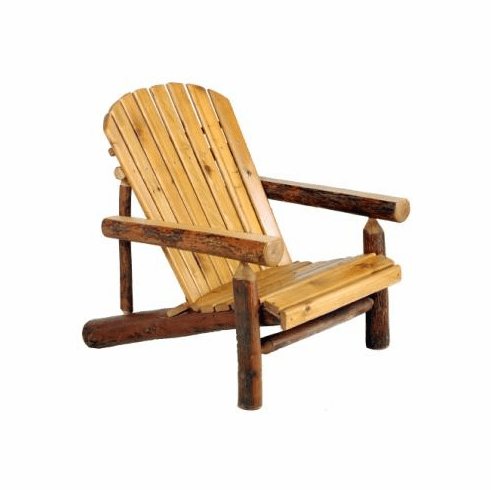 Adirondack Chair with Hickory Arms