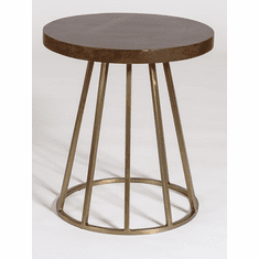 Alder and Tweed Braxton Accent Table