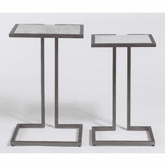 Alder and Tweed Bronx Nesting Tables
