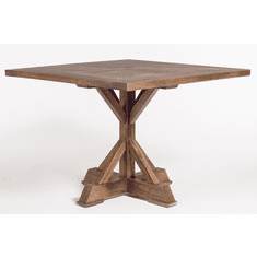 Alder and Tweed Bryant 42-inch Dining Table.