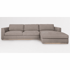 Alder and Tweed Maddox Sectional with Right Facing Chaise