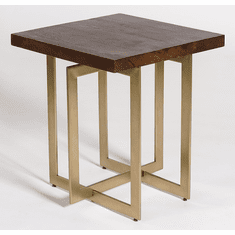 Alder and Tweed Manhattan End Table