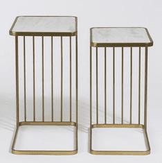 Alder and Tweed Retro Nesting Tables