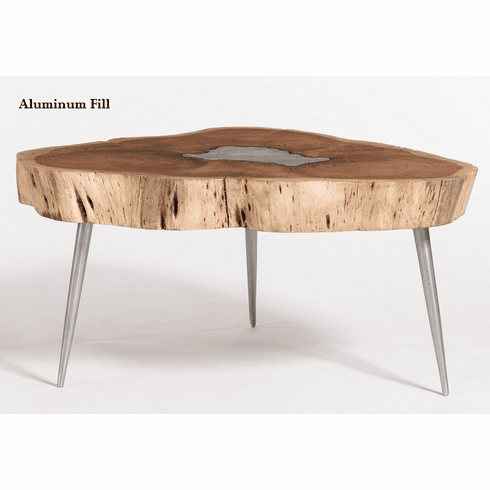 Alder and Tweed Vail Molten Coffee Table
